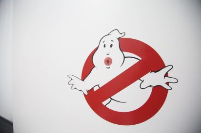 Butthole Stickers Ghostbusters