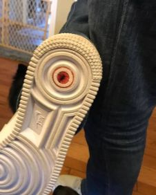 Butthole Stickers Shoe