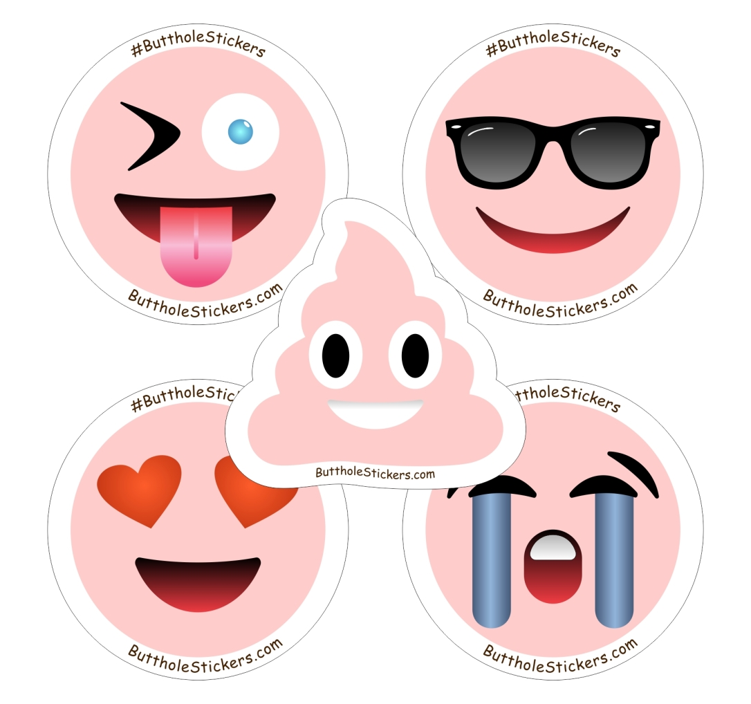 ButtholeStickers Emoji Pack